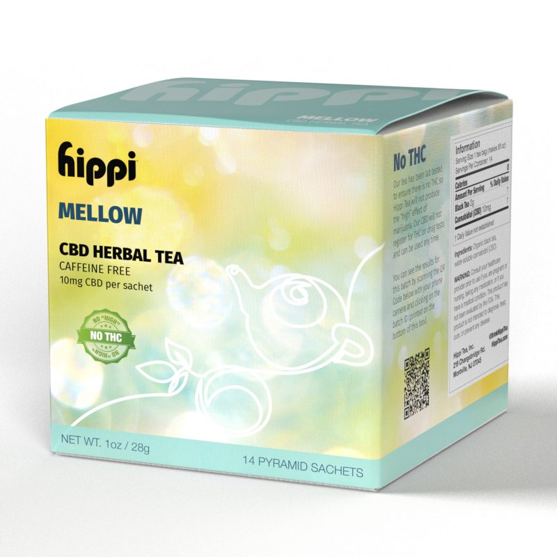 Mellow - Caffeine-Free Herbal CBD Tea