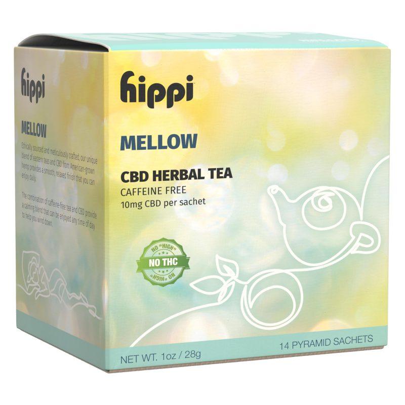 Mellow Caffeine Free Herbal CBD Tea