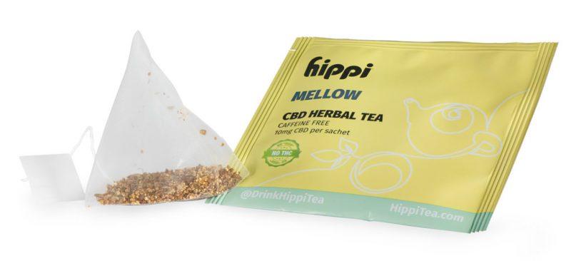 Hippi Mellow CBD Tea Sachet