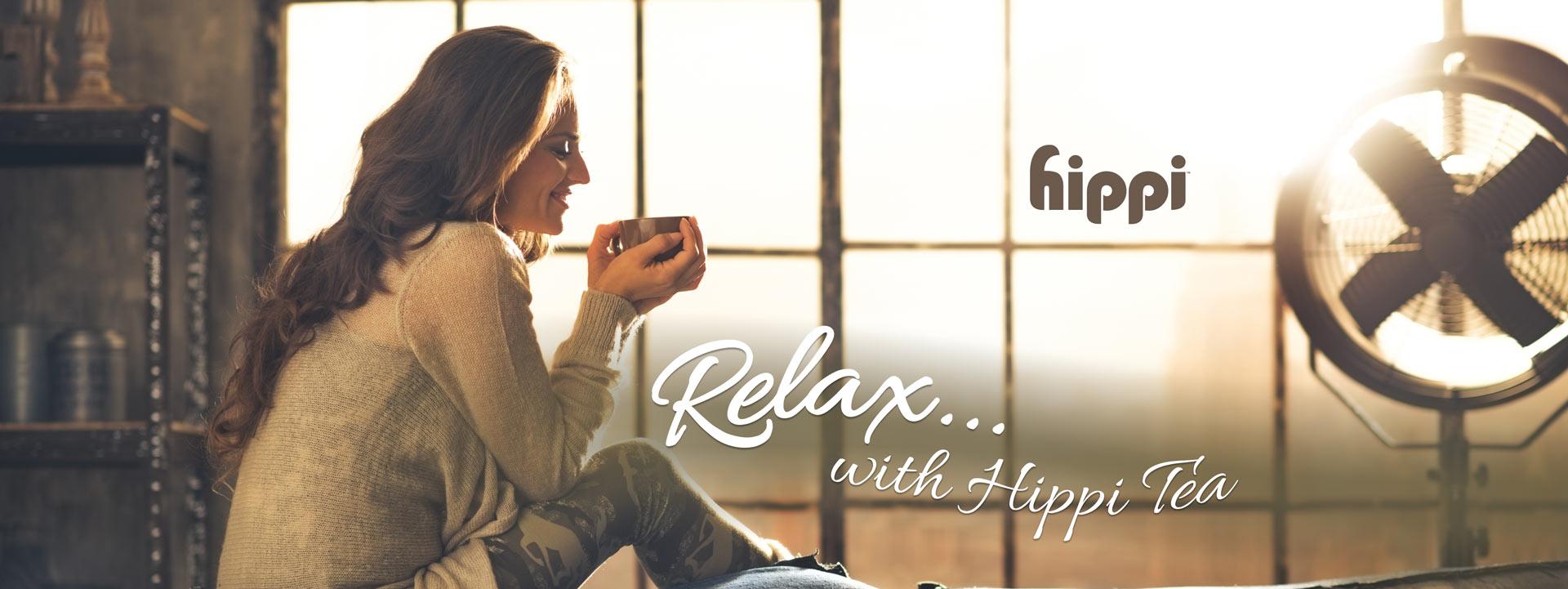Relax with Hippi CBD Tea Samples